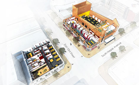 Chicago Innovation Exchange renderings