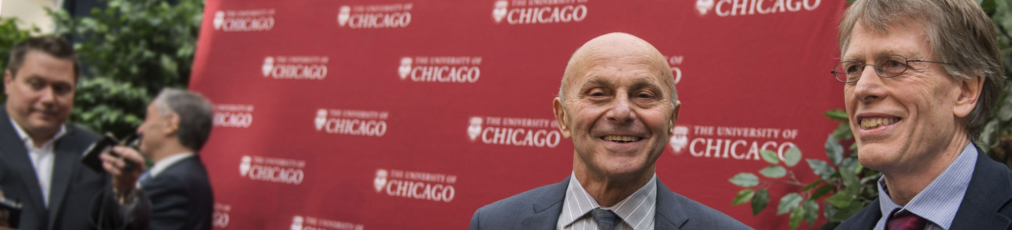UChicago scholars Eugene Fama and Lars Peter Hansen