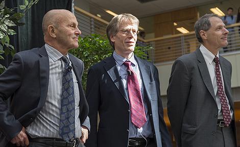 UChicago Profs. Lars Hars Hansen and Eugene Fama