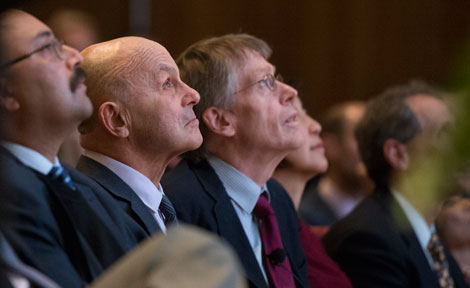 UChicago Profs. Eugene Fama and Peter Hansen