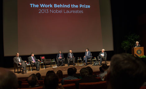 Nobel Prize celebration at UChicago's Logan Center