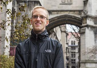 UChicago student Samuel Greene, Rhodes Scholarship winner
