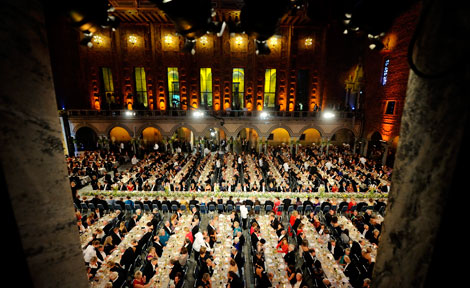 Dec. 10 Nobel Prize banquet