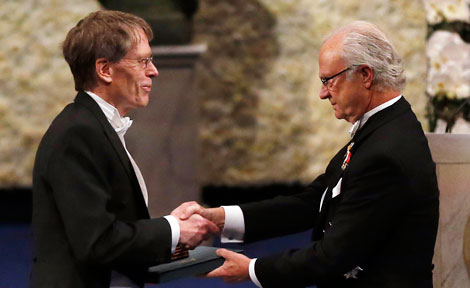 UChicago Prof. Lars Peter Hansen receives his Nobel