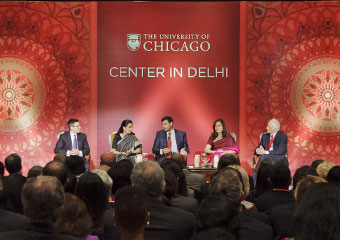 Raghuram Rajan leads a Presidential Forum at the Taj Palace Hotel, as the University of Chicago Center in Delhi opens this weekend.