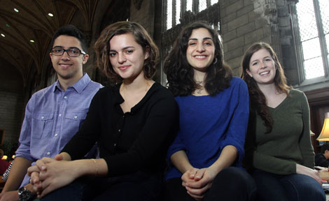 UChicago's four Truman scholars