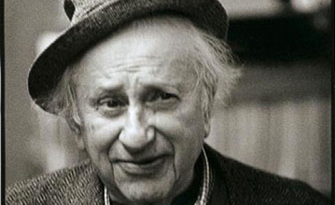 Studs Terkel in hat