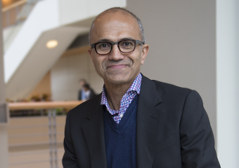Chicago Booth alum Satya Nadella