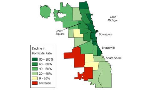 Students maps illuminate urban policy The University of Chicago