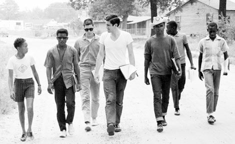 Freedom Summer volunteers in Mississippi
