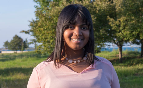 UChicago first-year Jaede Branch