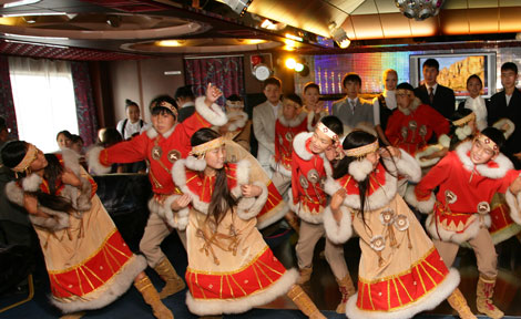 Evenki dancers