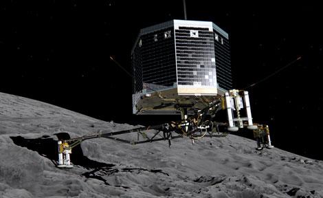 Philae lander