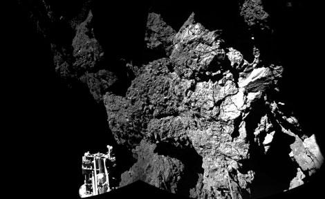 Comet panoramic
