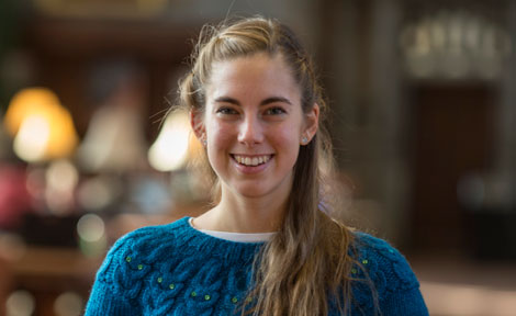 UChicago fourth-year Hope Bretscher, 2014 Marshall scholar