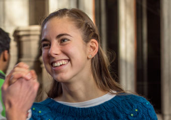 Marshall Scholarship winner and UChicago fourth-year student Hope Bretscher