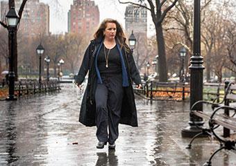 Poet Maureen McLane, PhD'97, in New York's Washington Park