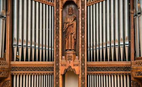 E.M. Skinner Organ at Rockefeller Chapel