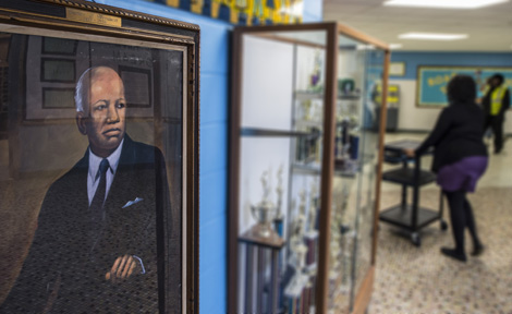 Portrait in Carter G. Woodson South Elementary School