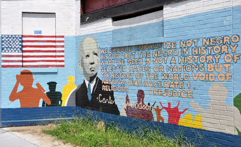 Woodson Mural in D.C.