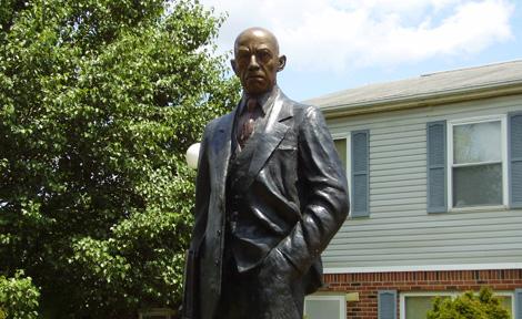 Carter Woodson statue