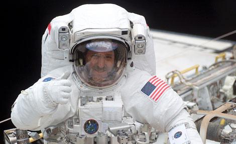 NASA astronaut John Grunsfeld