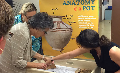 Oriental Institute-Discovery Cart teachers