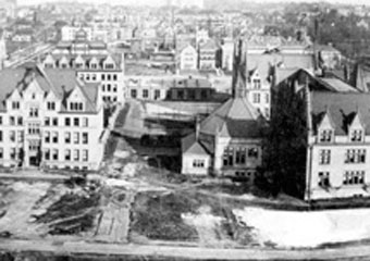 UChicago campus from 1901