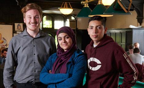 UChicago first-generation students