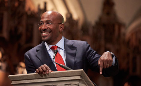 Van Jones keynote during MLK celebration at Rockefeller Chapel
