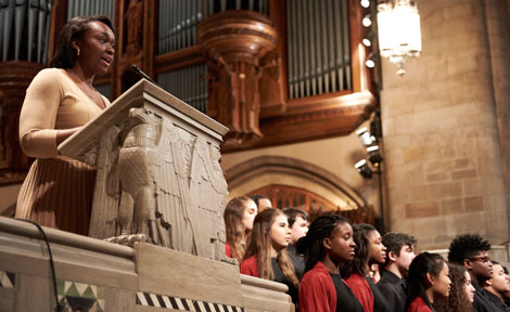 MLK celebration at Rockefeller Chapel
