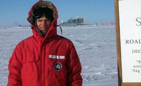 UChicago's John Carlstrom at South Pole