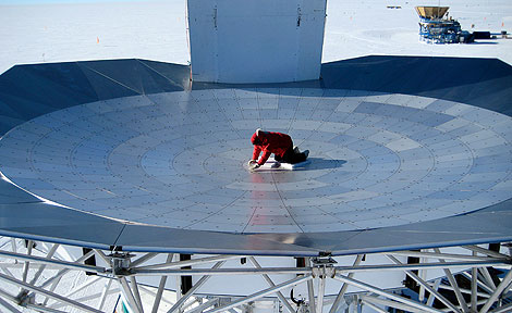 South Pole Telescope camera
