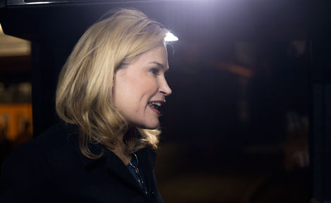 Heidi Cruz speaks to UChicago students