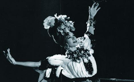 Katherine Dunham dancing