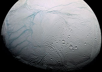 Saturn's icy moon
