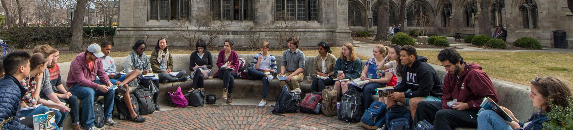 Undergraduate class at UChicago