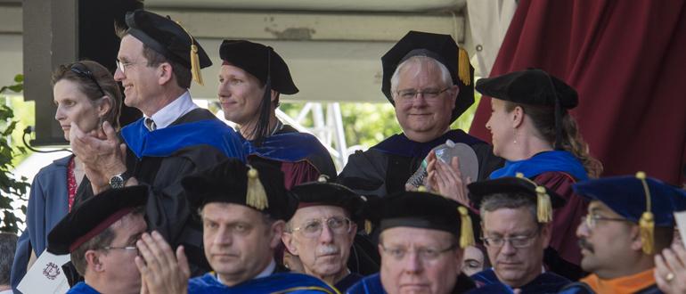 UChicago scholars at Convocation