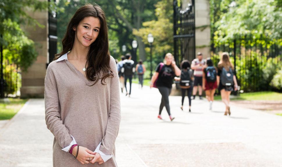 UChicago student Greer Baxter