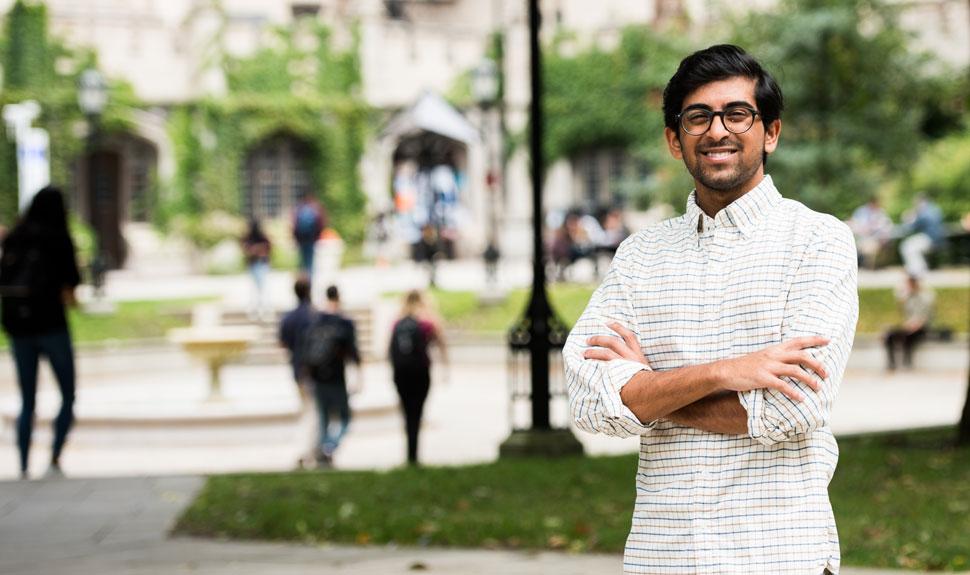 UChicago student Vivek Ramikrishnan