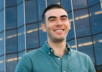 UChicago Law School student Joshua Pickar