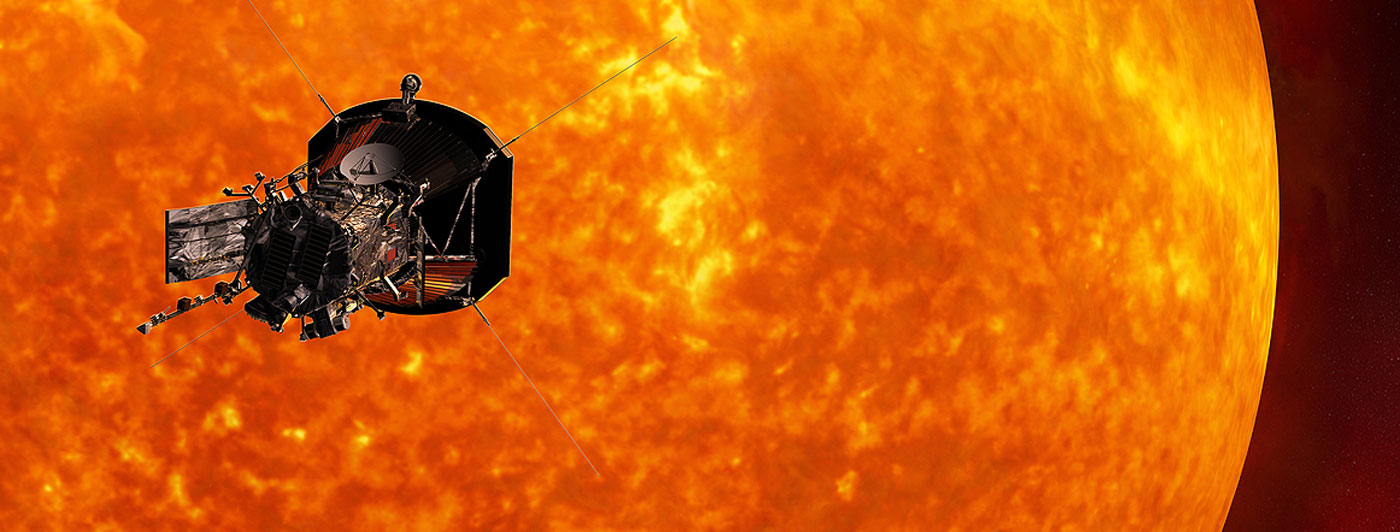 Solar space probe