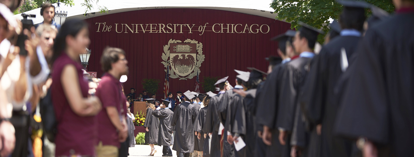 Convocation at UChicago