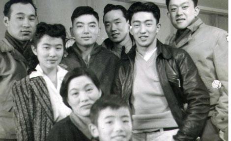 Mitsuye Yamada and family