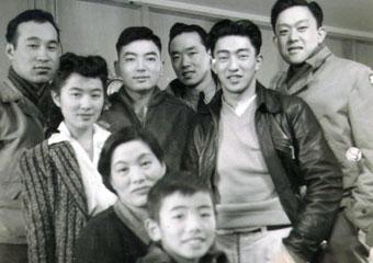 Mitsuye Yamada with family