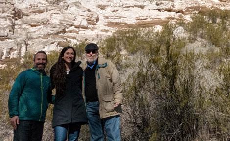 Alumna Charlie Baser in Hopi
