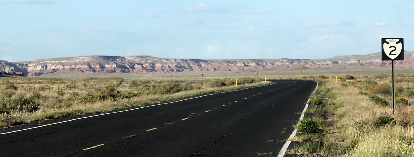 Road to Hopi reservation