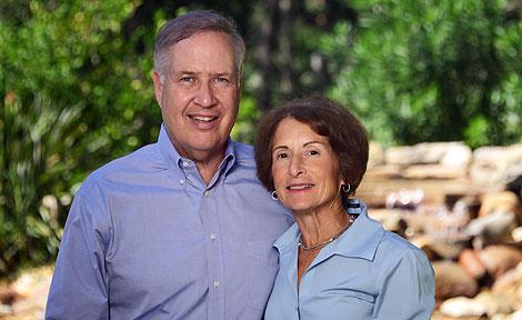 UChicago alumni Amy and Richard Wallman