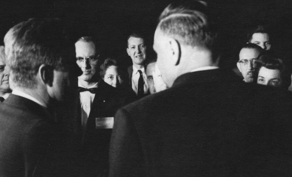 Ted Petry with President John F. Kennedy