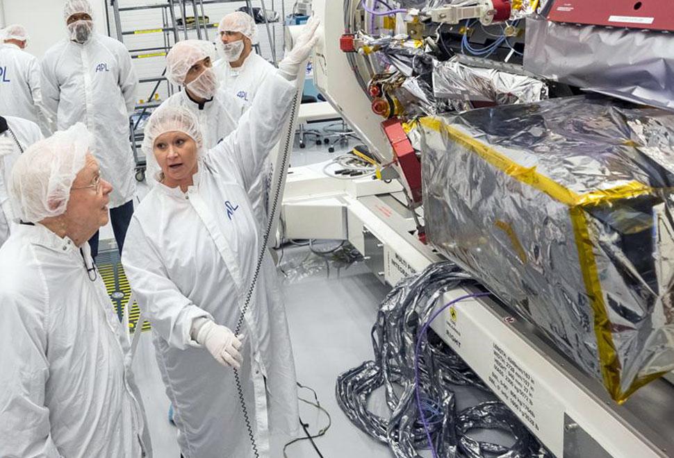 Parker visiting probe